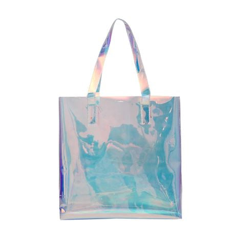 Candy Hologram Shopping Tote
