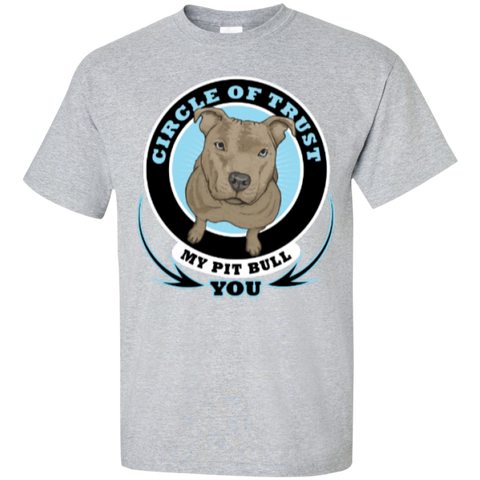 """Circle of Trust"" Pit Bull Shirts"