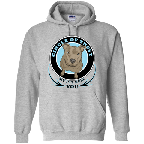 """Circle of Trust"" Pit Bull Hoodie"