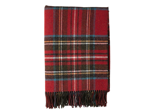 Tartan Lambswool Throw Blanket