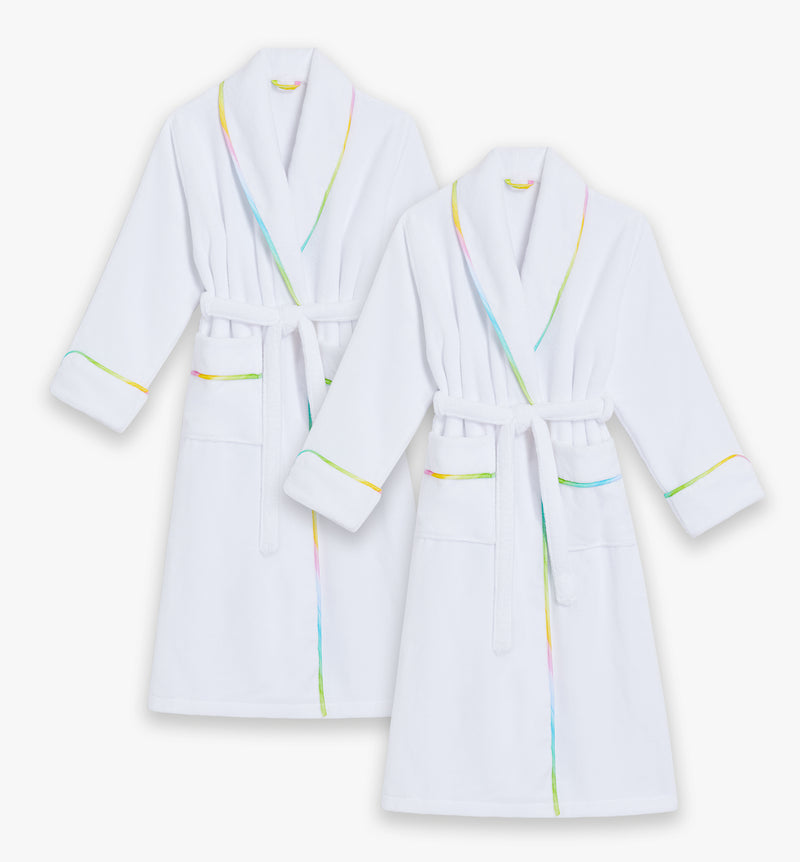 The Rainbow Adult Robe Bundle - His & His