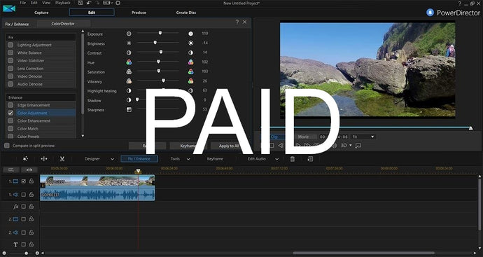 The Best Paid Video Editing Software for PC 2018