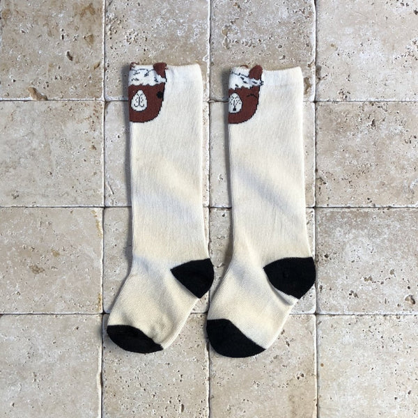 Alpaca Knee Socks - Family Store