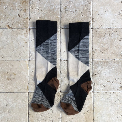 Geometric Knee Socks