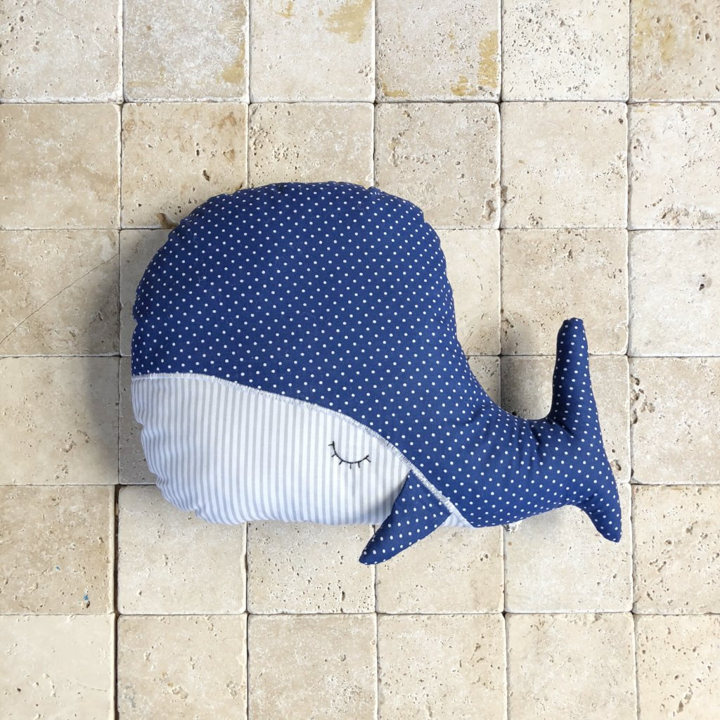 Sleepy Whale Pillow Toy
