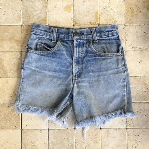 Vintage Levi's Orange Tab Cutoffs 3
