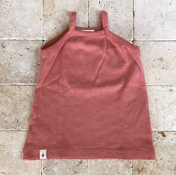 Halter Tank in Coral - Family Store