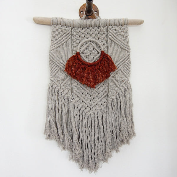 Macrame Dyed Wall Hanging - Family Store
