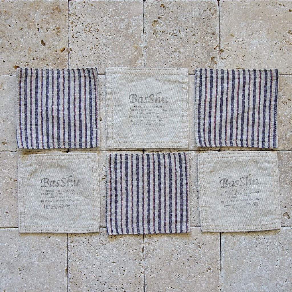 Cotton Chambray Coasters