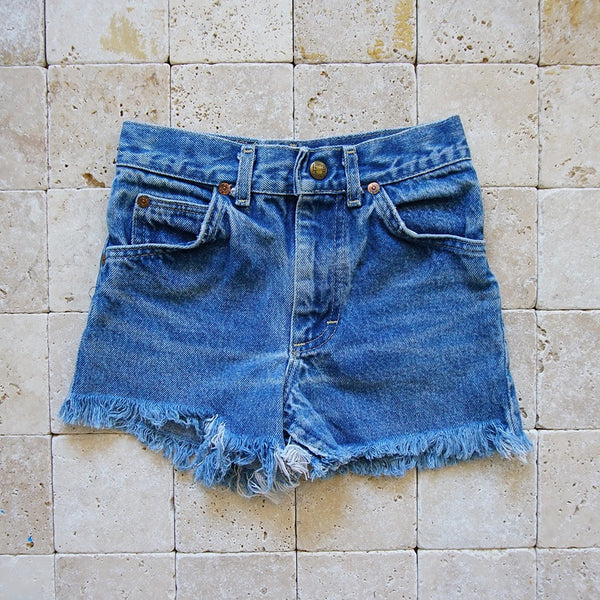 Vintage Lee Denim Cutoff Shorts