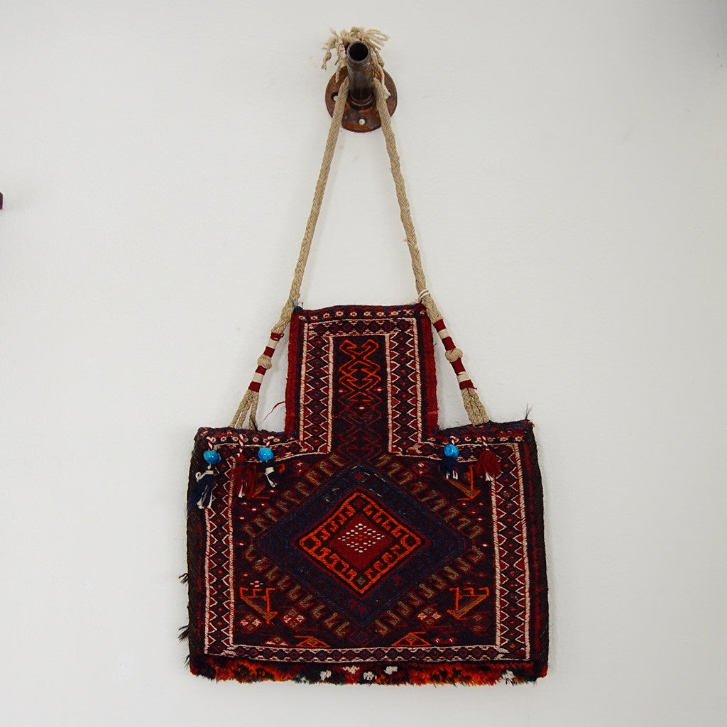1950s Woven Tapestry Bag - Family Store