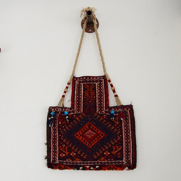 1950s Woven Tapestry Bag