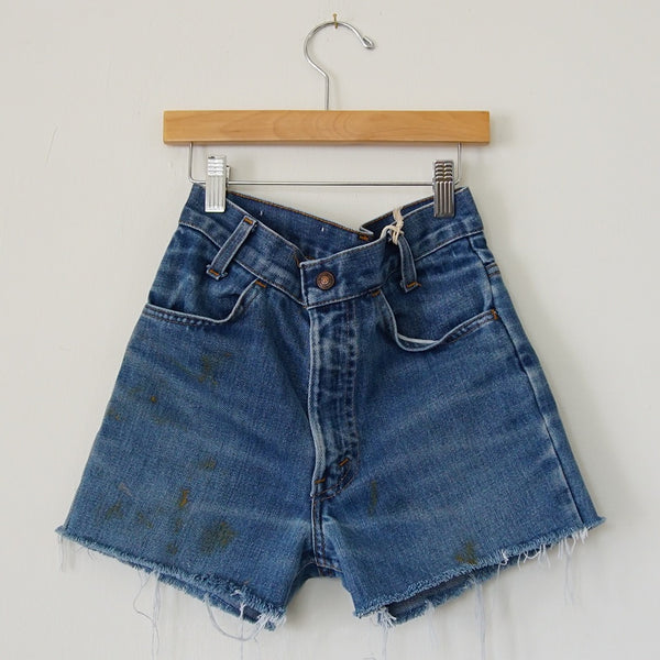 Vintage Levi's Orange Tab Cutoffs 2 - Family Store