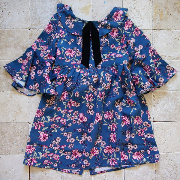 Juniper Floral Bell Dress - Family Store