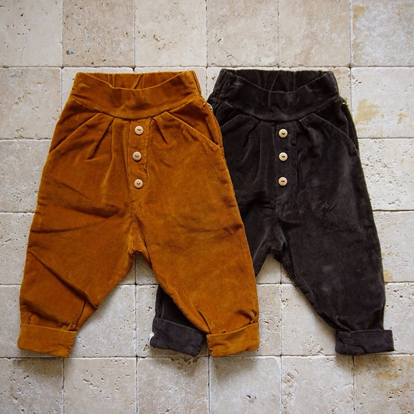 Cuffed Corduroy Pant - Family Store