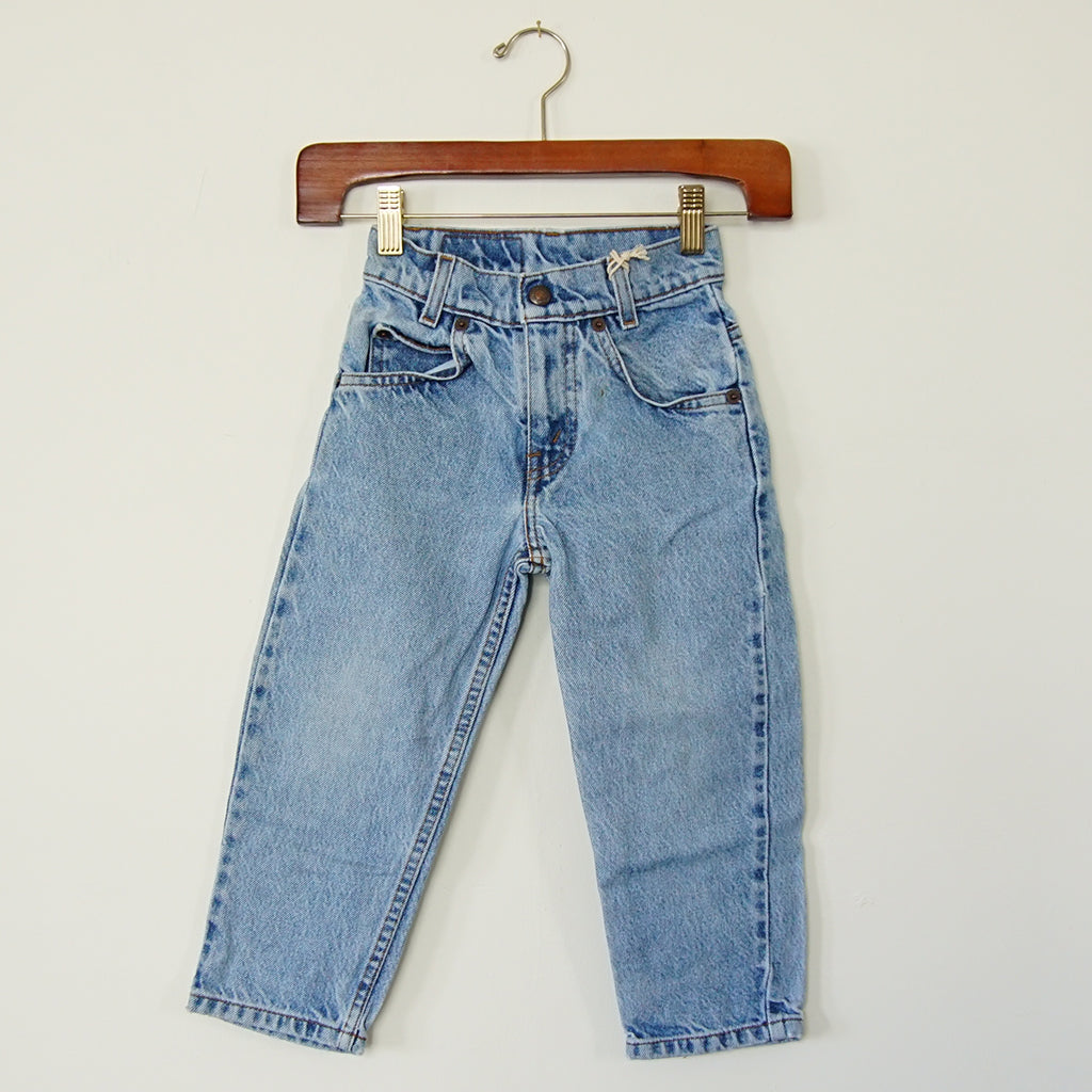 Vintage Levi's Orange Tab 550 Denim - Family Store