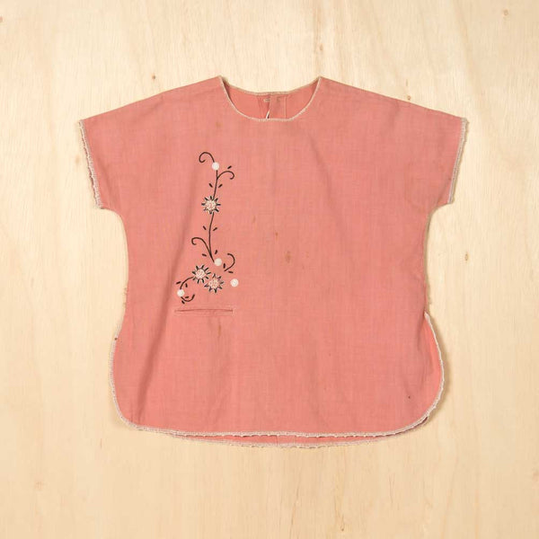 Vintage Pretty in Pink Tunic - Family Store