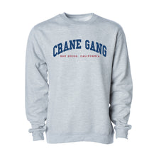 Load image into Gallery viewer, University Crewneck in Heather Gray