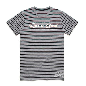 7SRC Rise & Grind Striped Tee