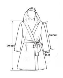 Kids Hooded Bathrobe