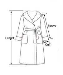 Shawl Collar Bathrobes