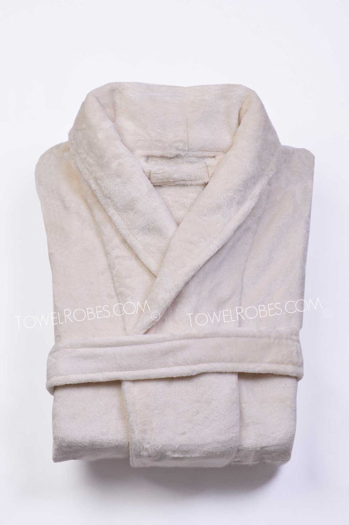 Beige-Color-Tahoe-Micro-Fleece-Bathrobes