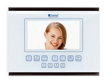 Four Plus Intercom Video Master Station White
