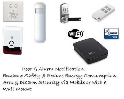 "Z-Wave Smart Security ""Entry"" Kit 4 Australian Market"