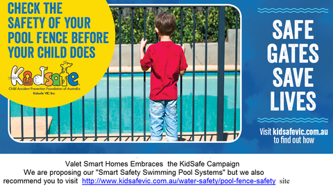 Smart Safety Swimming Pool System (IP Gateway Included)