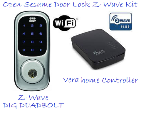 """Open Sesame"" Door Lock Z-Wave Kit"