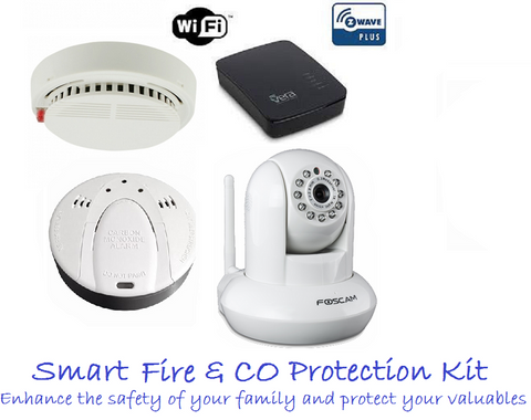 Z-Wave Smart Fire & CO Protection