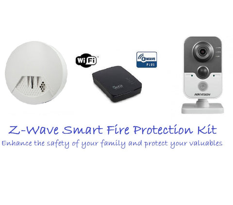 Z-Wave Smart Fire Protection Kit 4 Australian Market