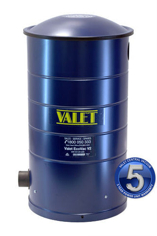 Valet Central Vacuum Power Unit Filtered Bag