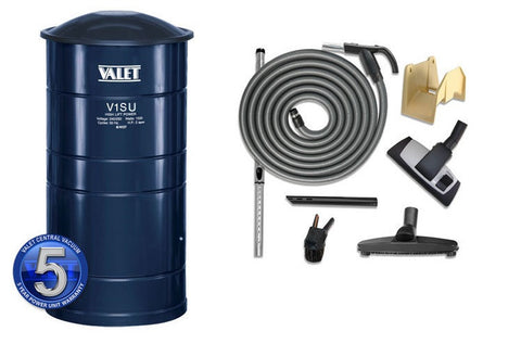 Valet Central Vacuum Kit V1SU.2 9m Switch Hose & Toolkit