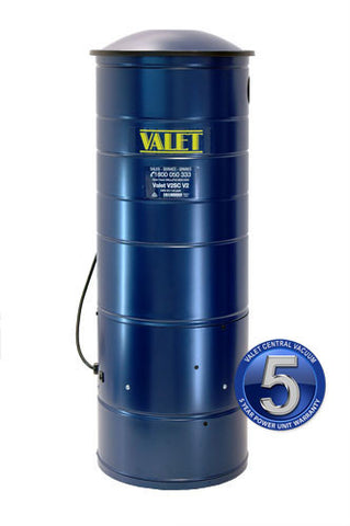 Valet Central Vacuum V2SC.2 Power Unit Filtered Bag