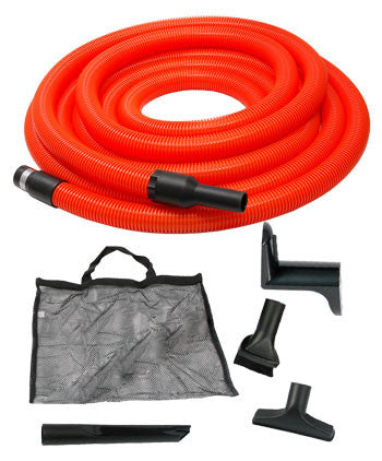 Ducted Vacuum Garage Hose & Tools Kit