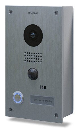 DOORBIRD    D201S/B WIFI Video INTERCOM Flush Mounted