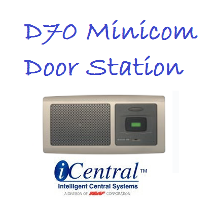Intercom Door Bell  D70 Minicom Door Station