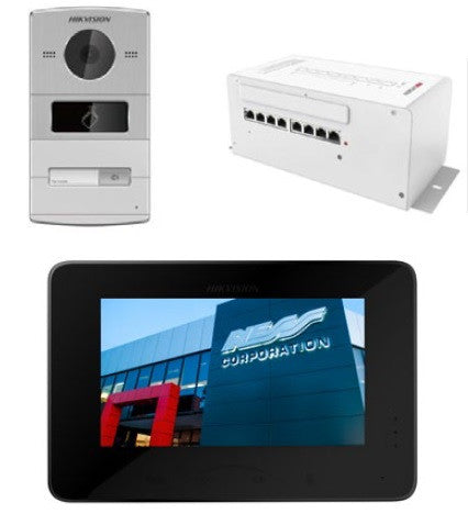 Hikvision Video Intercom 'Villa' Pre Programmed Kit