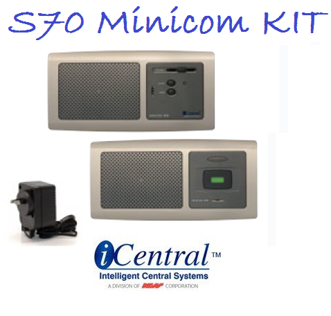 "Intercom Door Bell ""Minicom""  3 Piece  kit"
