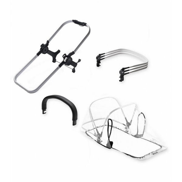 Bugaboo Donkey 2 Duo Extension Set Aluminum