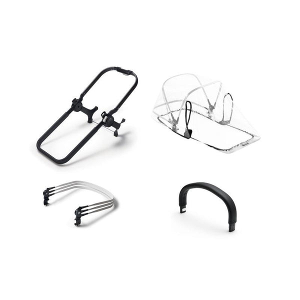 Bugaboo Donkey 2 Duo Extension Kit Black
