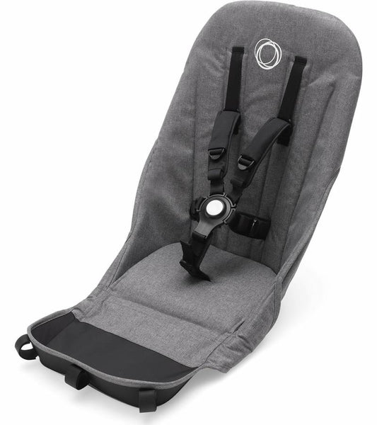 Bugaboo Donkey 2 Seat Fabric Premium Collection (Grey Melange)