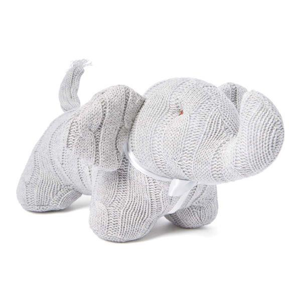 Baby Mode Cable Knit Elephant Grey