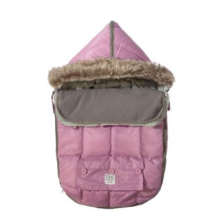 7AM Enfant Le Sac Igloo Pink Medium 6-18m