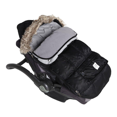 7AM Enfant Le Sac Igloo Black Small 0-6m