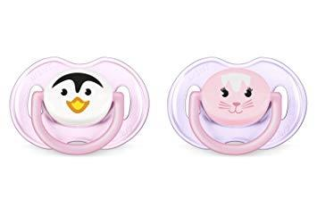 Avent Animal Silicone Pacifier 0-6 Months