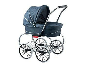 Valco Princess Doll Stroller Denim