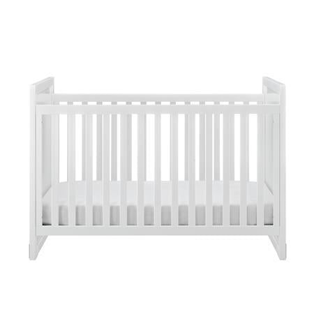 Baby Relax Miles 2-in-1 Convertible Crib White
