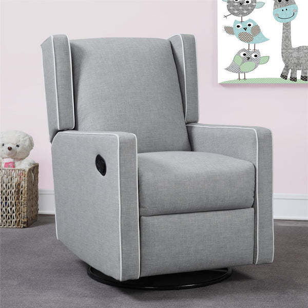 Mon Bebe Everston Swivel Glider Grey